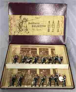 Boxed John Tunstill 15pc Hussar Cavalry Band