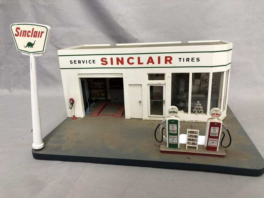 Fantastic Keystone Style Sinclair Wood Gas Station