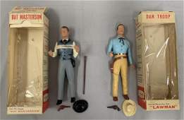 Boxed Hartland Bat Masterson & Dan Troop