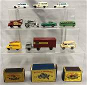 10 Assorted Matchbox Vehicles