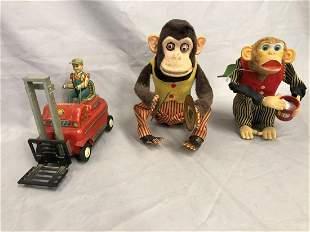 3 Vintage Japanese Battery-op Toys