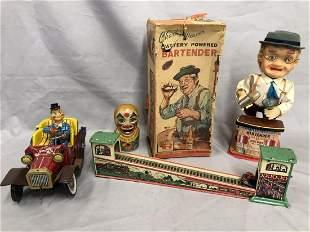 4 Vintage Toys