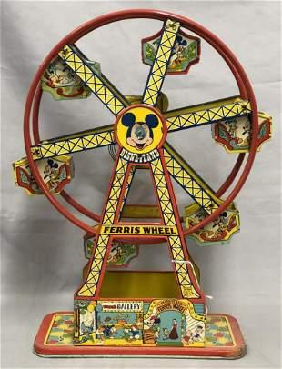Boxed Chein Disney Ferris Wheel