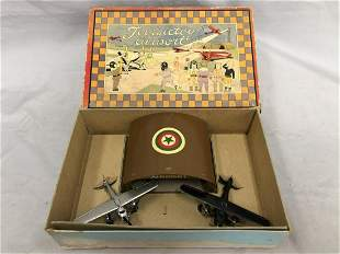 Boxed Early TootsieToy Military Airport