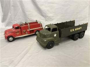 Tonka & Marx Toy Trucks, TLC