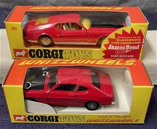 Corgi Whizzwheels Lot of Two. MIB.