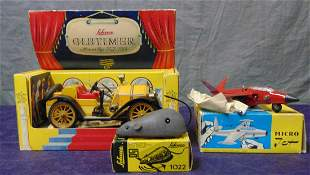 3 Boxed Schuco Toys