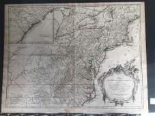 Partientrionalee De L'Amerique Map.