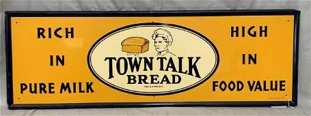 Town Talk Bread Sign