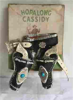 Wyandotte Hopalong Cassidy Gun and Holster Set.