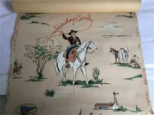 Hopalong Cassidy Wall Paper.