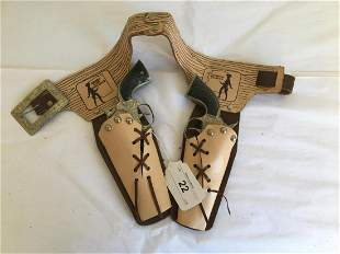 Sheriff Clay Hollister Holster and Gun Set.