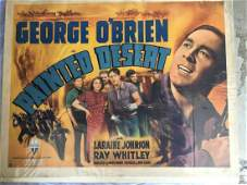 George O'Brien. Lot of Two Half Sheets.