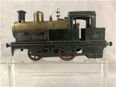 Early Bing French Live Steam Tank Locomotive
