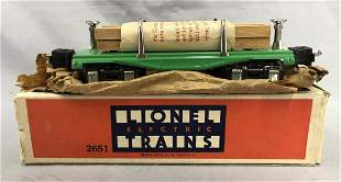 NMINT Boxed 1938 Lionel 2651 Lumber Car