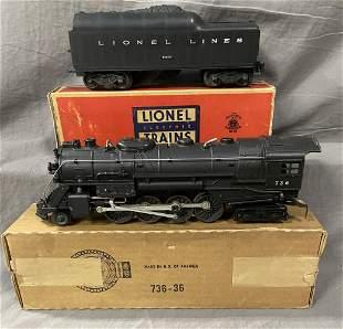 Nice Boxed Lionel 736 Berkshire Loco