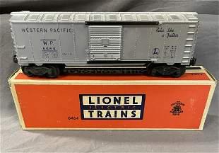 Rare Boxed Lionel 6464-1 WP Boxcar, Roof Ridges