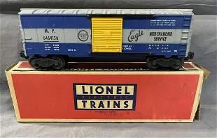 RARE Boxed Lionel 6464-150 MP Boxcar, 1st Panel