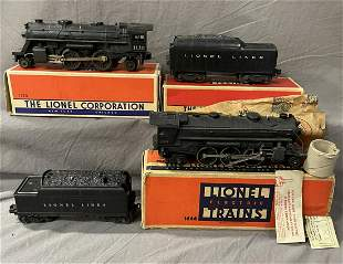Boxed Lionel 1130 & MINT 1666 Locos