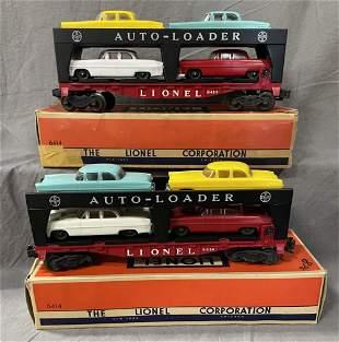 2 Boxed Lionel Auto-Loaders