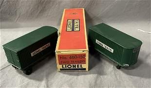 Scarce Boxed Lionel 460-150 Vans