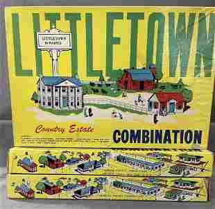 3 Variations Littletown 404 Country Estate Sets