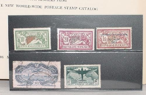 2: FRENCH STAMP COLLECTION.
