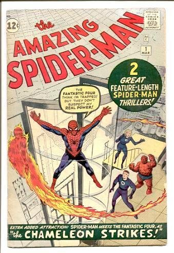 92: AMAZING SPIDERMAN #1.