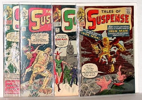 118: TALES OF SUSPENSE #42-45 BIG APPLE COMICS