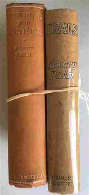 Barry Pain. Lot of Two First Editions.