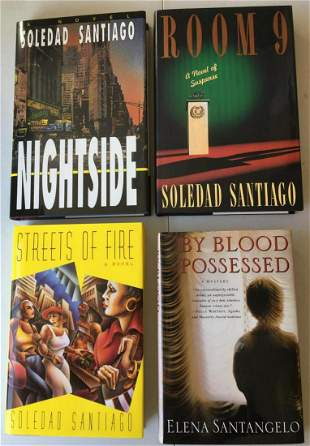 """Detective and Mystery Lot. Authors Letter """"S""""."""