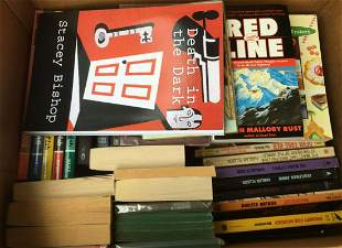 Mystery and Detective Soft Cover Book Lot.