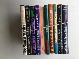 Lee Martin. (10) Volumes.