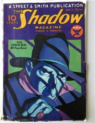 The Shadow Street & Smith. 1934