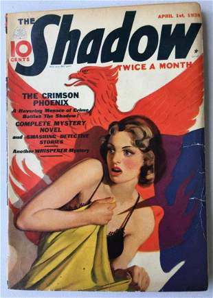 The Shadow Street & Smith. 1938