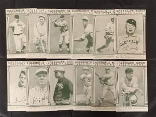1948 W464 Exhibit Card lot of (12)