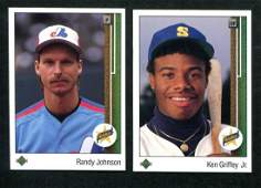 1989 Upper Deck Lot of Two Rookies.