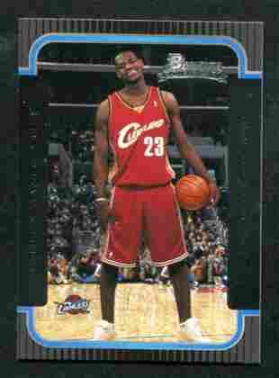 2003-2004 Bowman LeBron James Rookie.