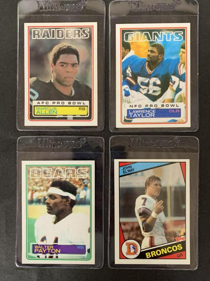 Topps Complete Football Card Sets.