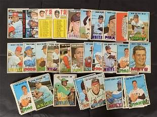 1967 Topps Higher Grade Baseball Card Lot.