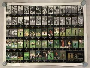 1998 Champions of Golf Uncut Sheet, Tiger Woods RC