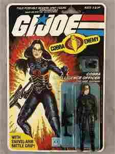1984 MOC GI JOE Baroness Cobra Figure, 32 Back