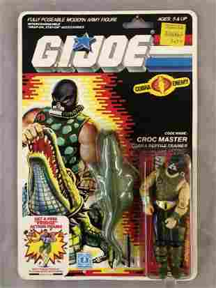1987 MOC GI Joe Croc Master Action Figure, 34 Back