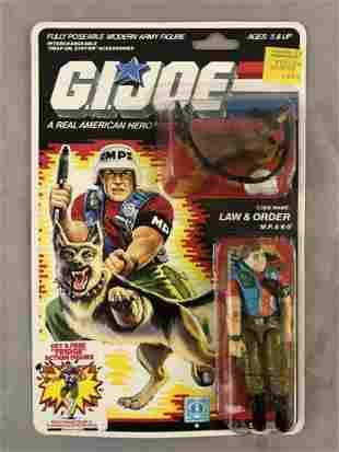 1987 MOC GI Joe Law & Order MP/K9 Figure, 34 Back