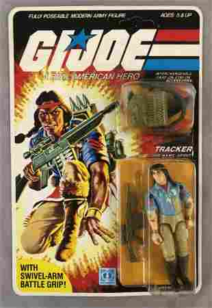 1984 MOC GI Joe Tracker Spirit Figure, 32 Back