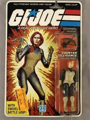 1983 MOC GI Joe Scarlett Action Figure, 32 Back
