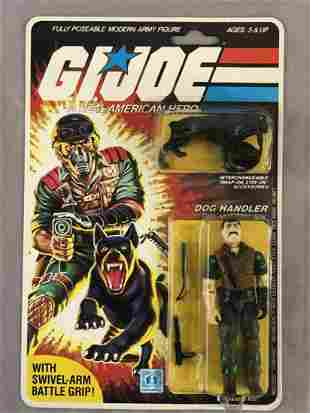 1984 MOC GI Joe Dog Handler Mutt Figure, 32 Back