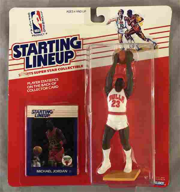 1988 MOC Michael Jordan RC Starting Lineup Figure
