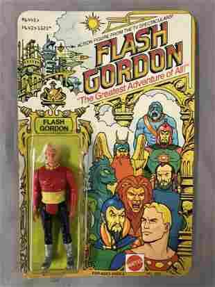 1979 Unpunched MOC Flash Gordon Figure, Mattel