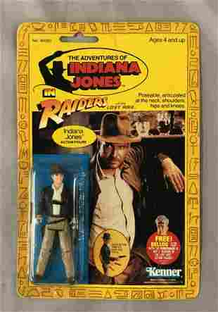 1982 MOC Indiana Jones ROTLA Action Figure, Kenner